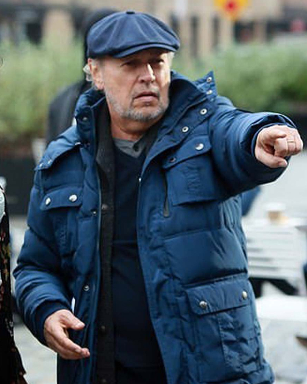 here today charlie bern blue puffer jacket