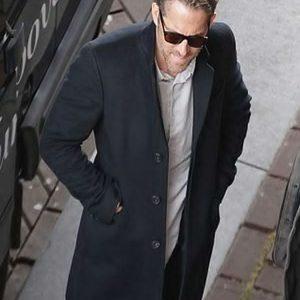 hitman's bodyguard ryan reynolds wool coat