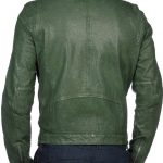 mens-green-leather-motorcycle-jacket