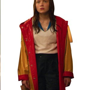 sadie sink stranger things season 04 max mayfield coat
