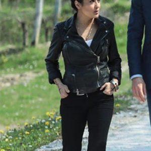 salma hayek moto leather the hitman's wife's bodyguard sonia kincaid jacket