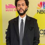 save your tears the weeknd music awards 2021 black coat
