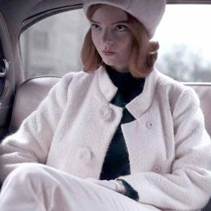 the-queens-gambit-anya-taylor-joy-white-coat