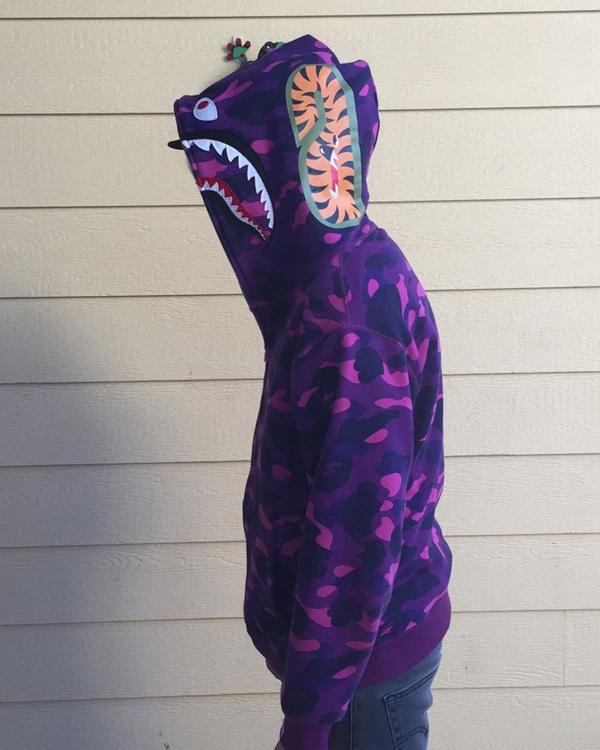 Bape Purple Hoodie