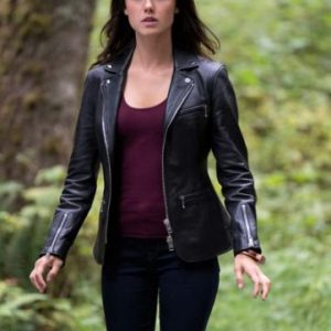 Charmed SO3 Poppy Drayton Leather Jacket