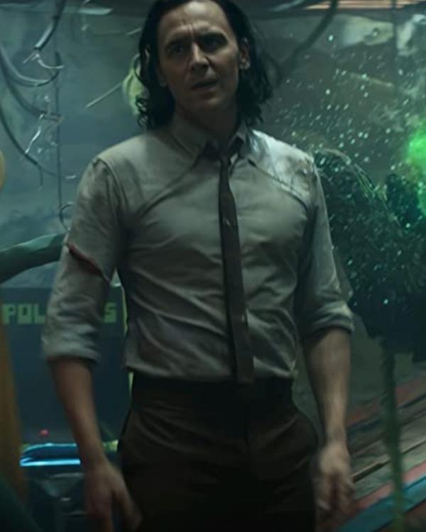 Loki TVA Variant Tie And Shirt