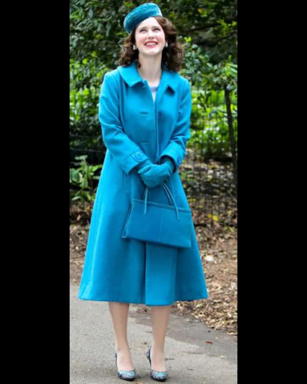 The Marvelous Mrs. Maisel Rachel Brosnahan Trench Coat