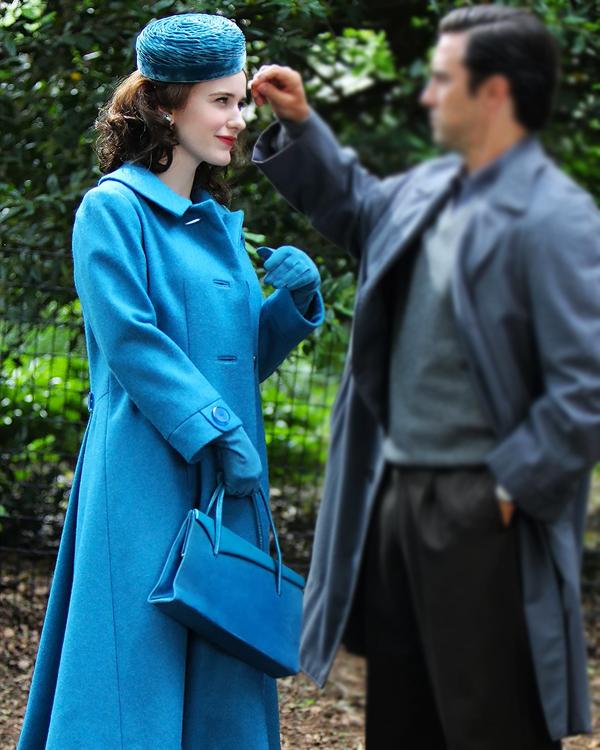 The Marvelous Mrs. Maisel SO4 Rachel Brosnahan Coat