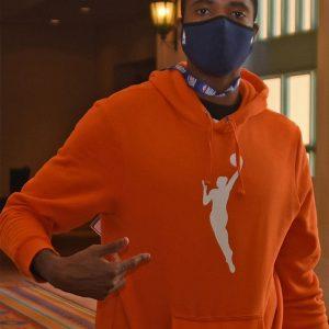 WNBA 2021Orange Hoodie