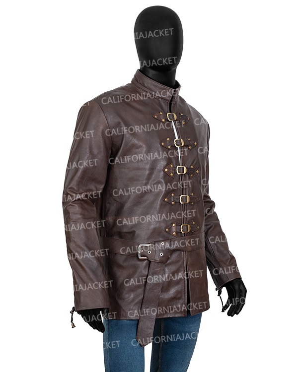 bronn-game-of-thrones-brown-leather-jacket