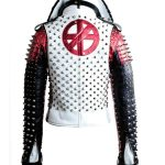 men's & women's studded and spikes leather jacket
