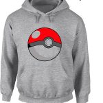 pokemon-go-pokeball-logo-gray-hoodie