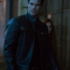 ren wicked (the wicked trilogy) liam hall leather jacket
