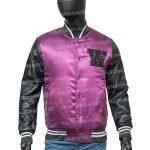 the weeknd purple jacket