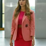 Elite Short Stories Carla Roson Pink Coat