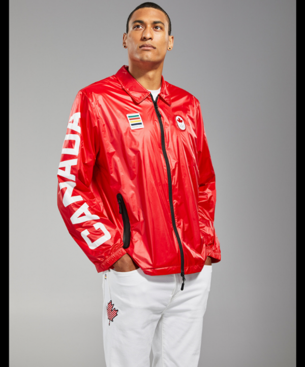 Olympic 2021 Canada Red Jacket