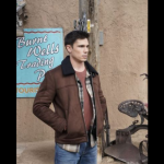 Roswell New Mexico Tanner Novlan Brown Jacket