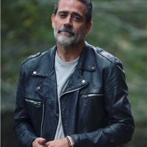 The Walking Dead SO11 Jeffrey Dean Morgan Black Jacket
