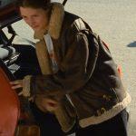 Beckett Lena Leather Shearling Jacket