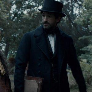 Charles Boone TV-Series Chapelwaite Adrien Brody Woolen Coat