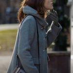 Death She Wrote Paula Brancati Grey Coat