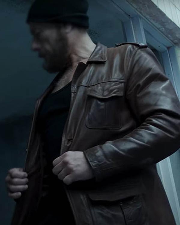 The Last Mercenary 2021 Van Damme Leather Jacket