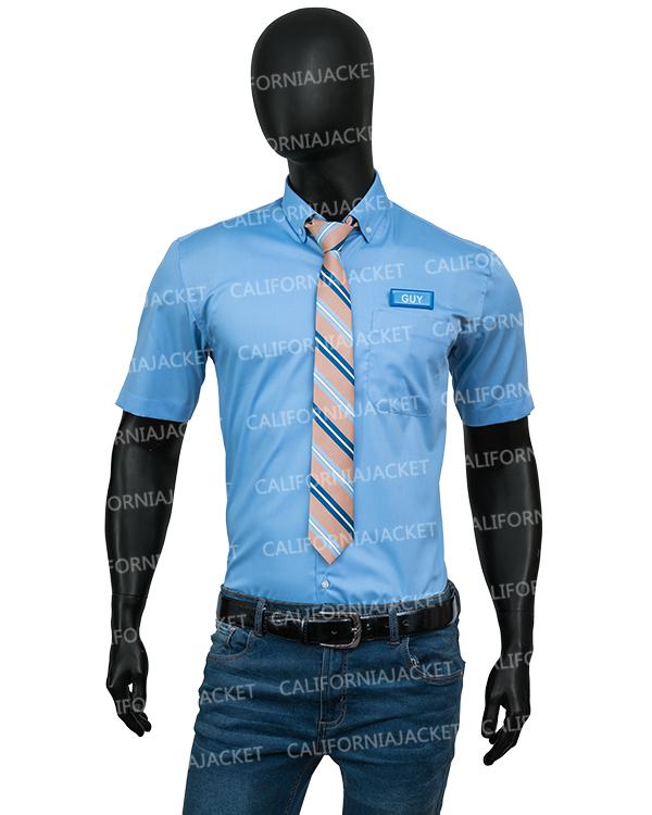 free-guy-ryan-reynolds-blue-shirt-with-tie