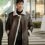 Ahn Bo-Hyun Itaewon Class Leather Coat