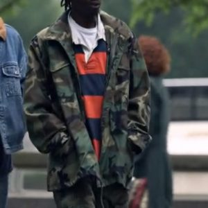 An American Saga Ashton Sanders Zip Camo Jacket