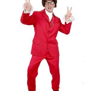 Austin Powers Red Suit