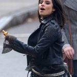 Driver 8 belted Leather Doom Patrol Crazy Jane Studded Jacket