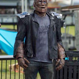 Doom Patrol Robotman Cliff Steele Jacket