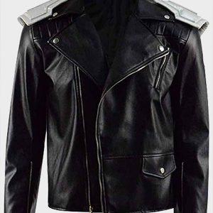 Doom Patrol Robotman Cliff Steele Leather Jacket