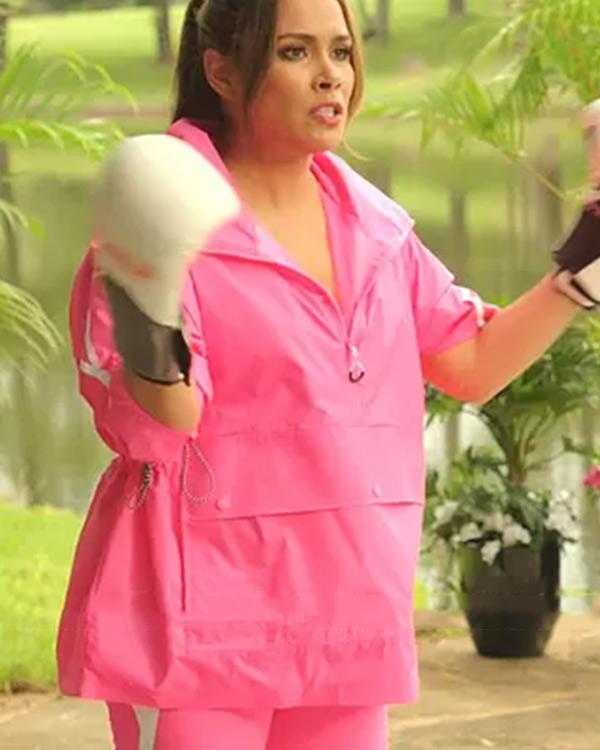 Dynasty Cristal Jennings Pink Jacket