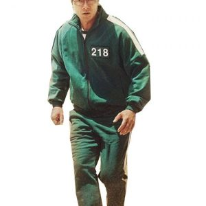 Squid Game 2021 TV Series Green Tracksuit
