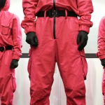 Squid Game Guard Pink Jumpsuit