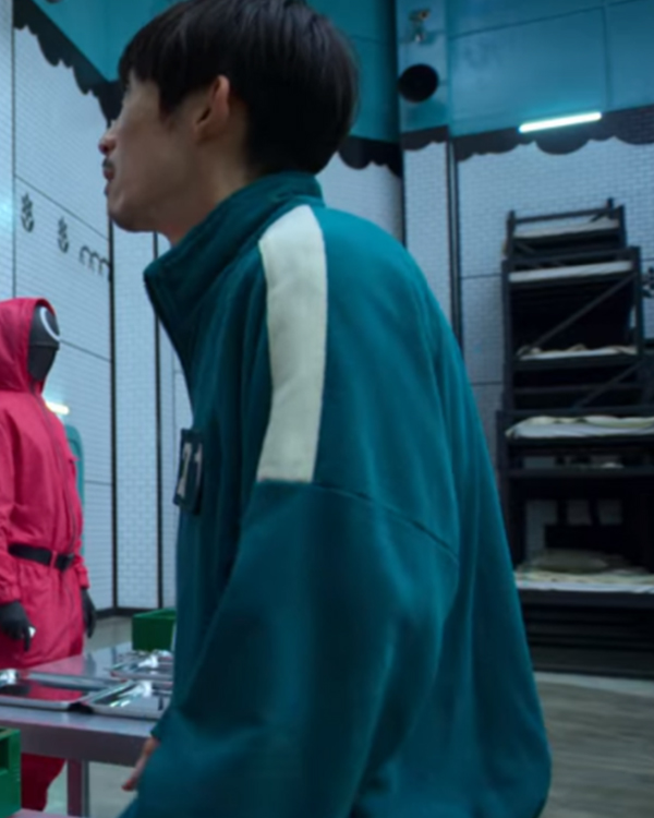 Squid Game Participants Green Bomber Jacket