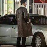 TV Series Itaewon Class Jang Geun Won Brown Shearling Leather Coat