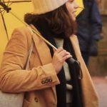 Wendy Dating & New York Francesca Reale Brown Jacket