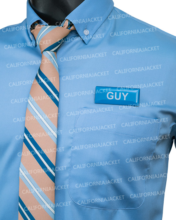 ryan-reynolds-free-guy-blue-shirt-with-tie