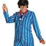 Austin Power Pinstripe Blue Suit