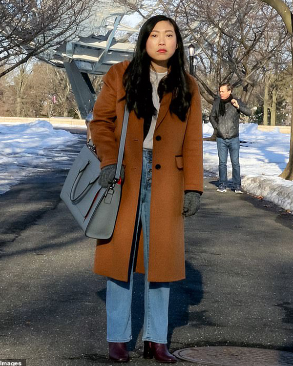 Awkwafina is Nora From Queens Coat