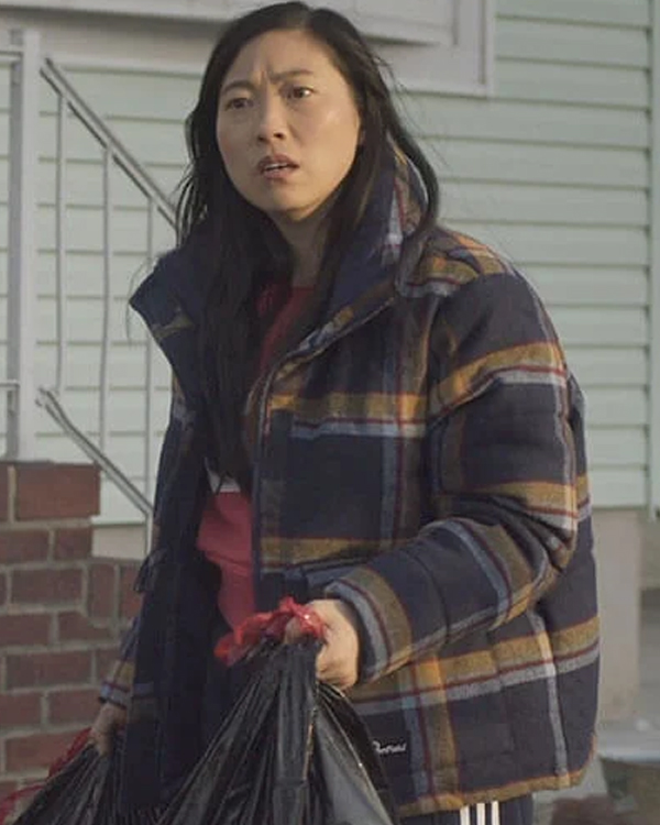 Awkwafina is Nora From Queens Plaid Jacket