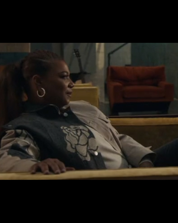 The Equalizer Queen Latifah Printed Jacket