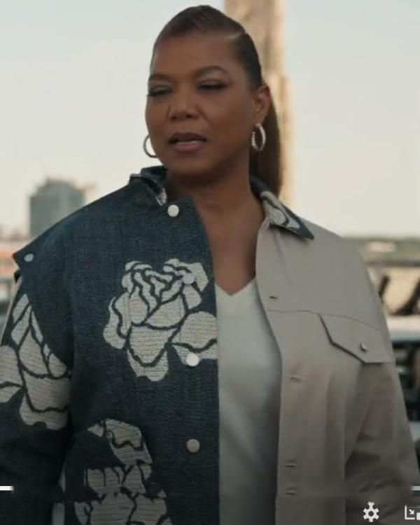 The Equalizer Season 2 Queen Latifah Printed Jacket
